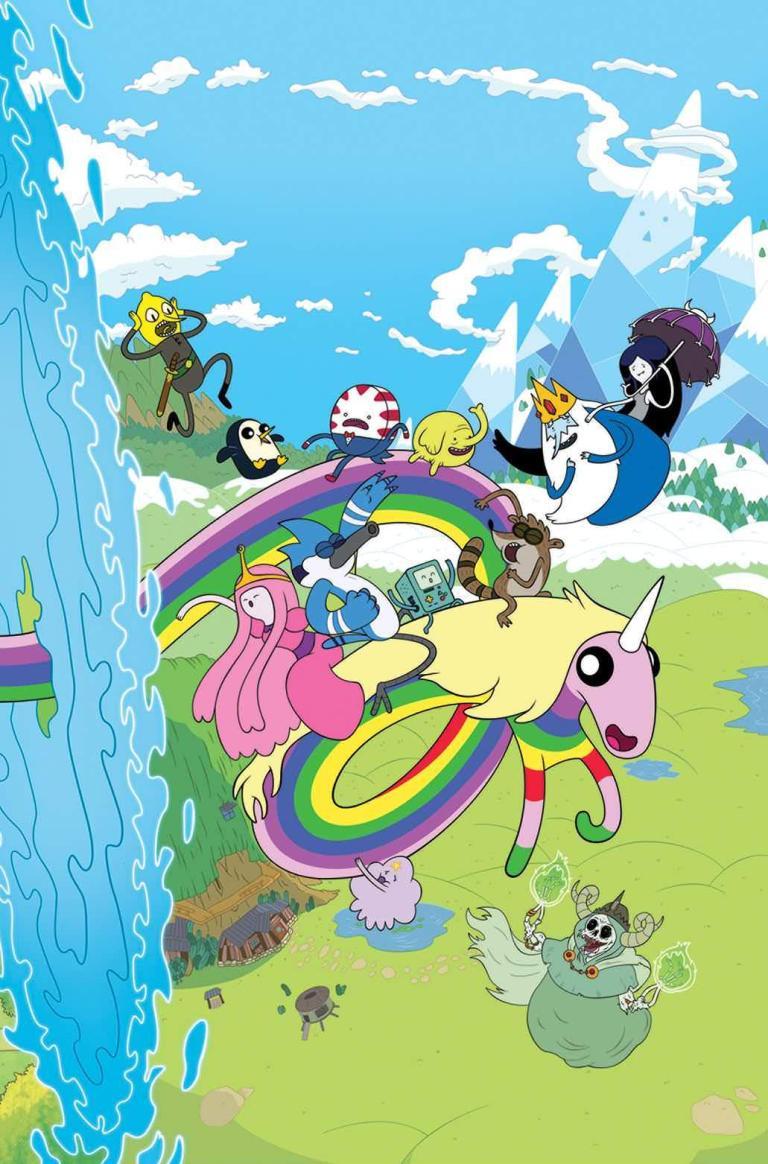 Adventure Time Regular Show #1 (Cover B Phil Murphy)