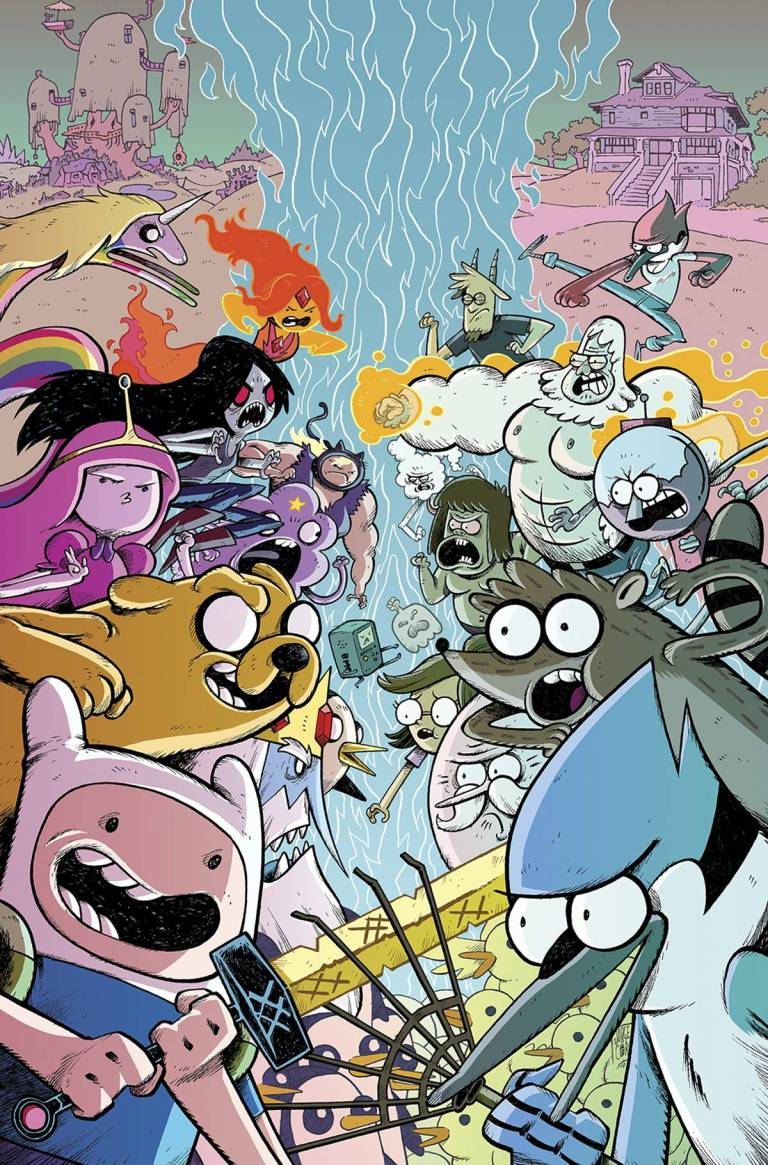 Adventure Time Regular Show #1 (Cover C Jorge Corona)