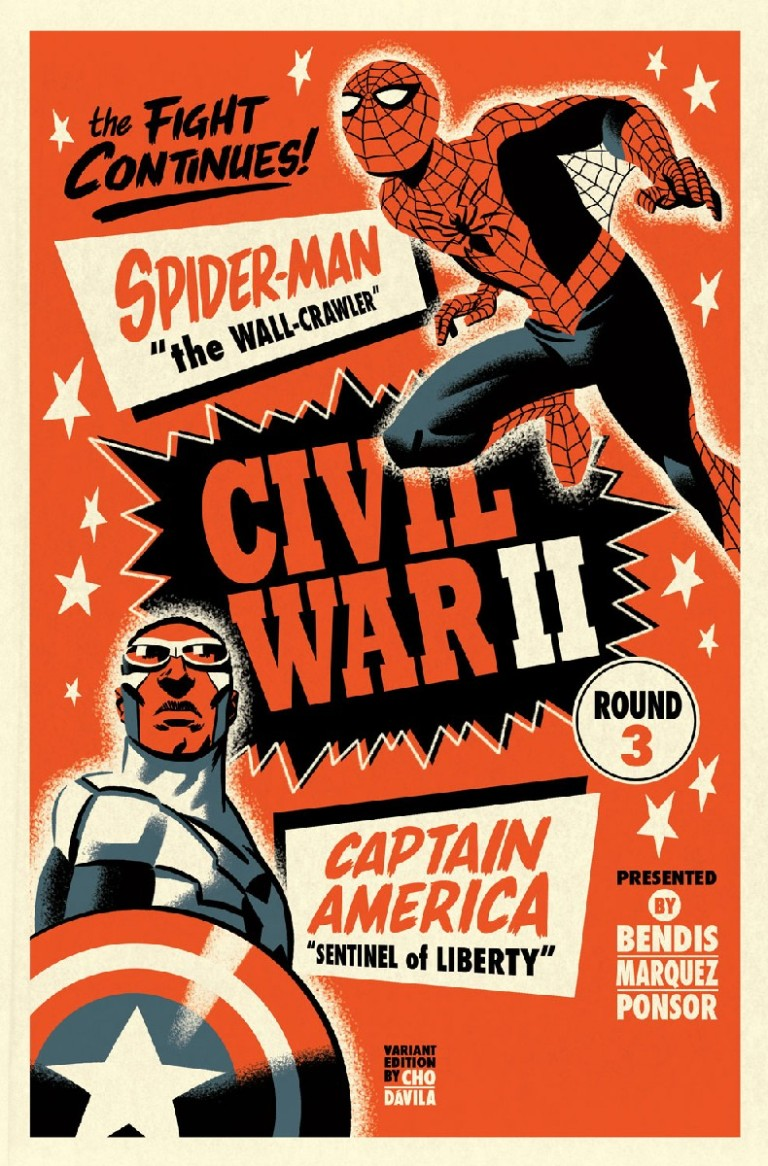 Civil War II #3 (Michael Cho Variant Cover)