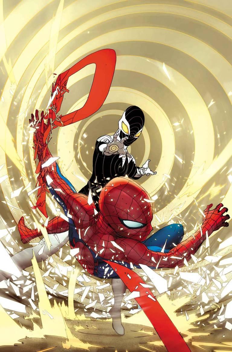 Civil War II Amazing Spider-Man #4 (Travel Foreman Regular Cover)