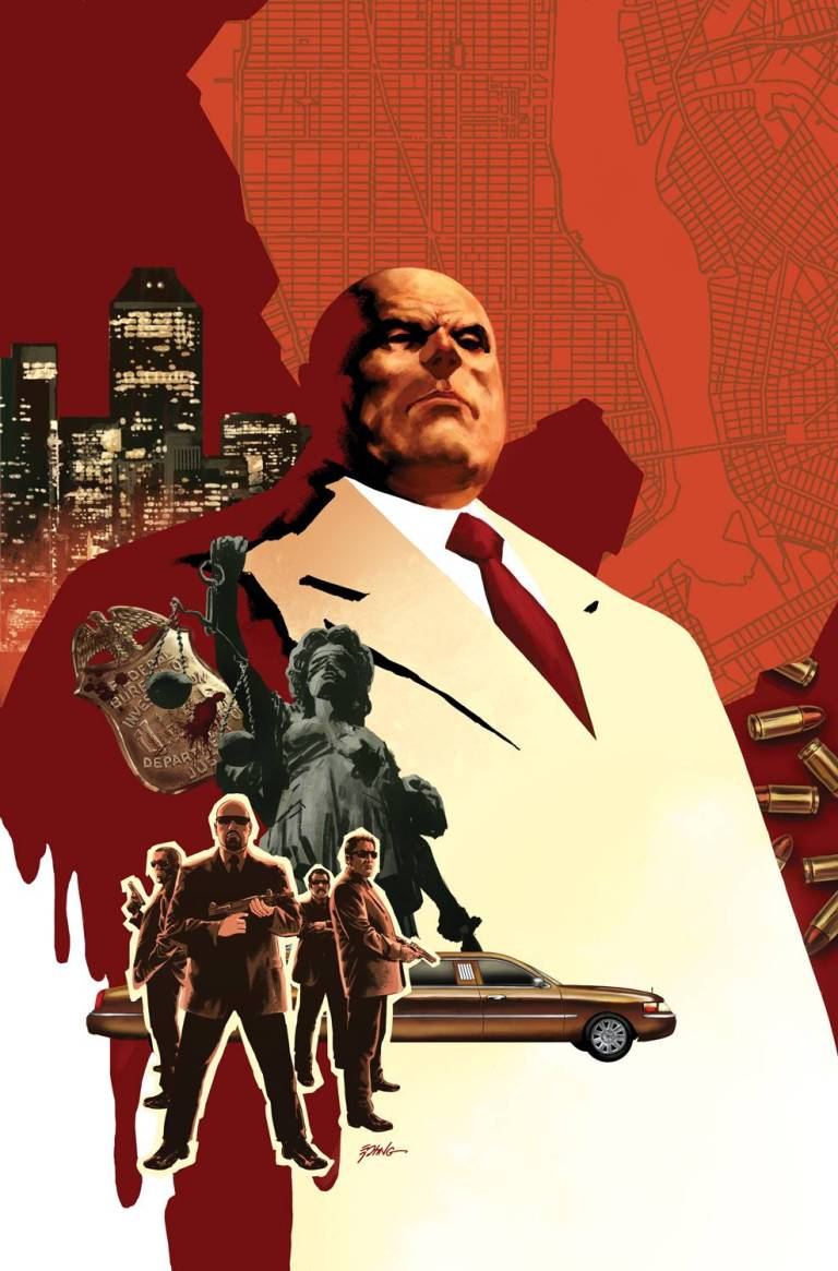 Civil War II Kingpin #3 (Steve Epting Variant Cover)