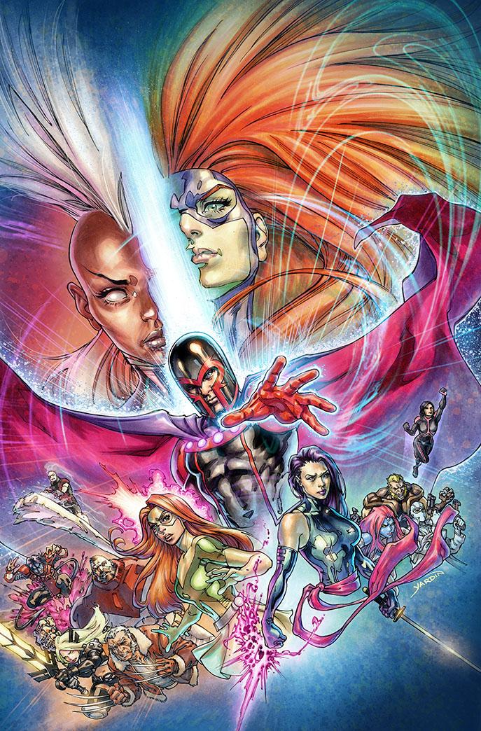 Civil War II X-Men #1 (David Yardin Regular Cover)