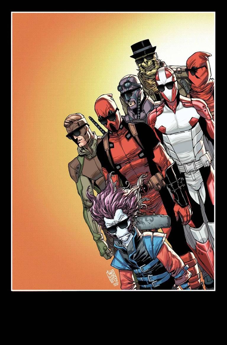 Deadpool And The Mercs For Money #1 (Cover B Giuseppe Camuncoli)