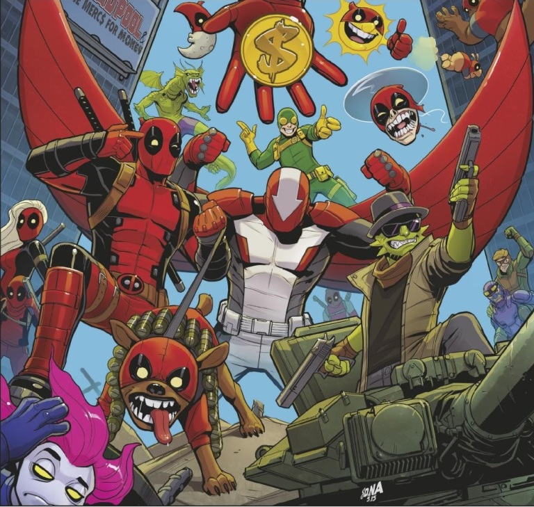 Deadpool And The Mercs For Money #1 (Cover D David Nakayama Hip-Hop Variant)