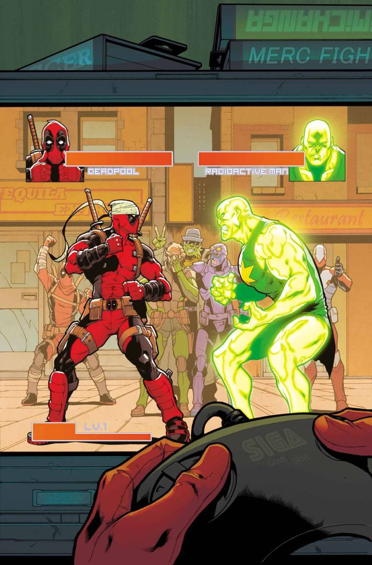 Deadpool And The Mercs For Money #2 (Iban Coello Regular Cover)