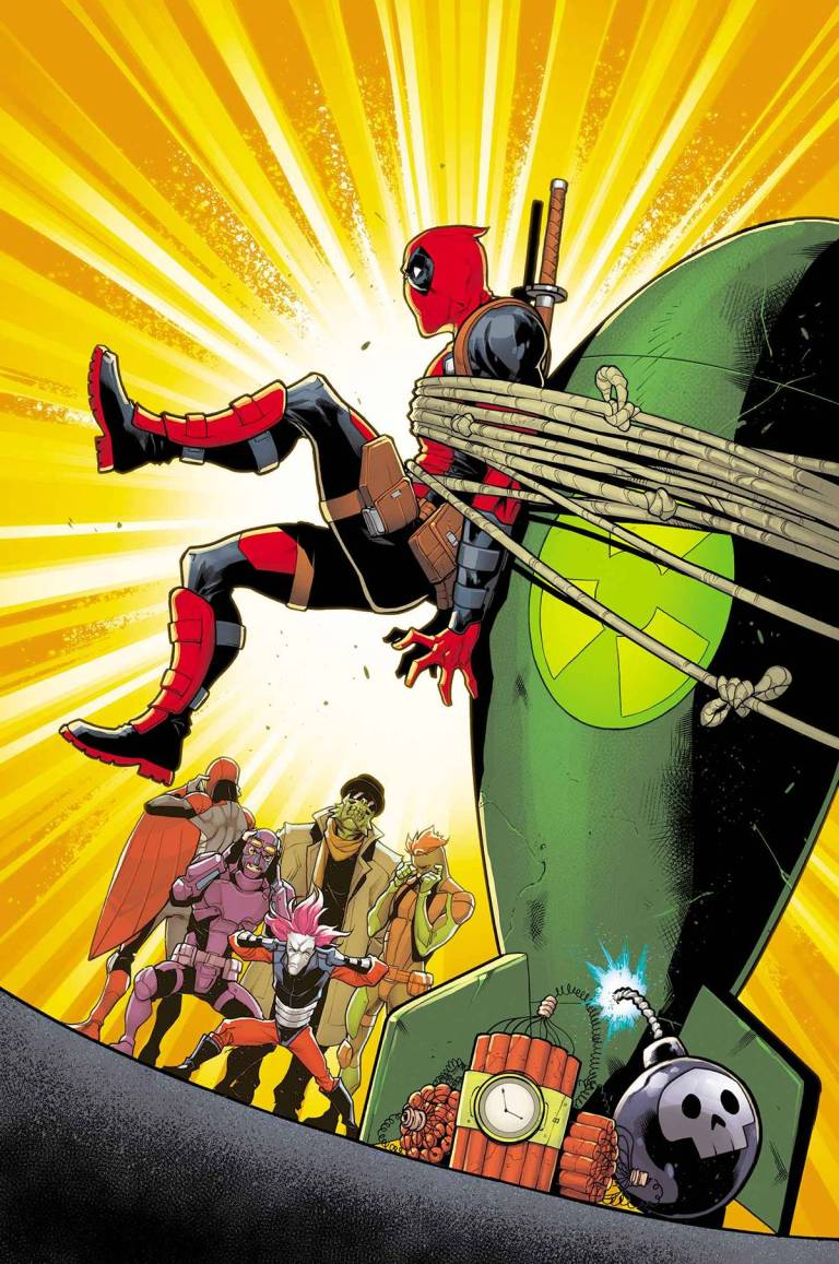 Deadpool And The Mercs For Money #3 (Iban Coello Regular Cover)