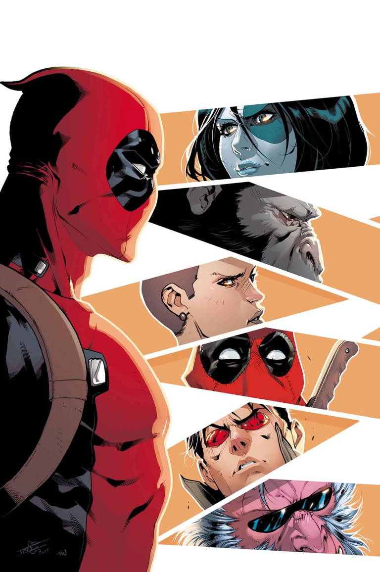 Deadpool And The Mercs For Money #5 (Iban Coello Regular Cover)