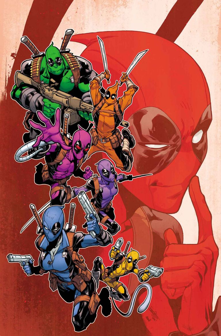 Deadpool And The Mercs For Money #6 (Iban Coello Regular Cover)