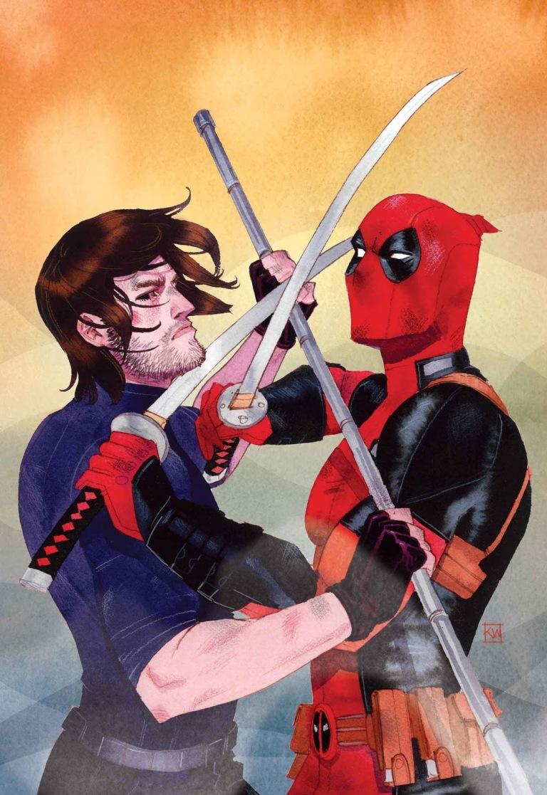 Deadpool V Gambit #1 (Kevin Wada Regular Cover)