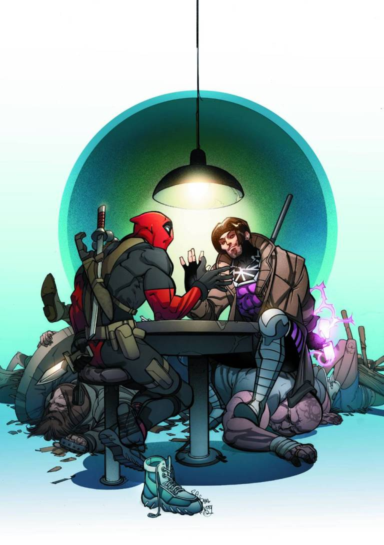 Deadpool V Gambit #3 (Pasqual Ferry Variant Cover)