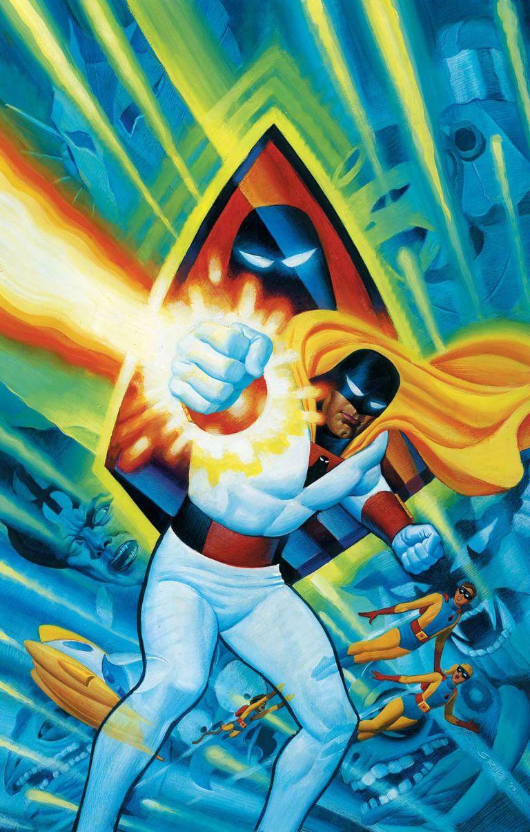 Future Quest Presents #1 (Cover B Steve Rude)
