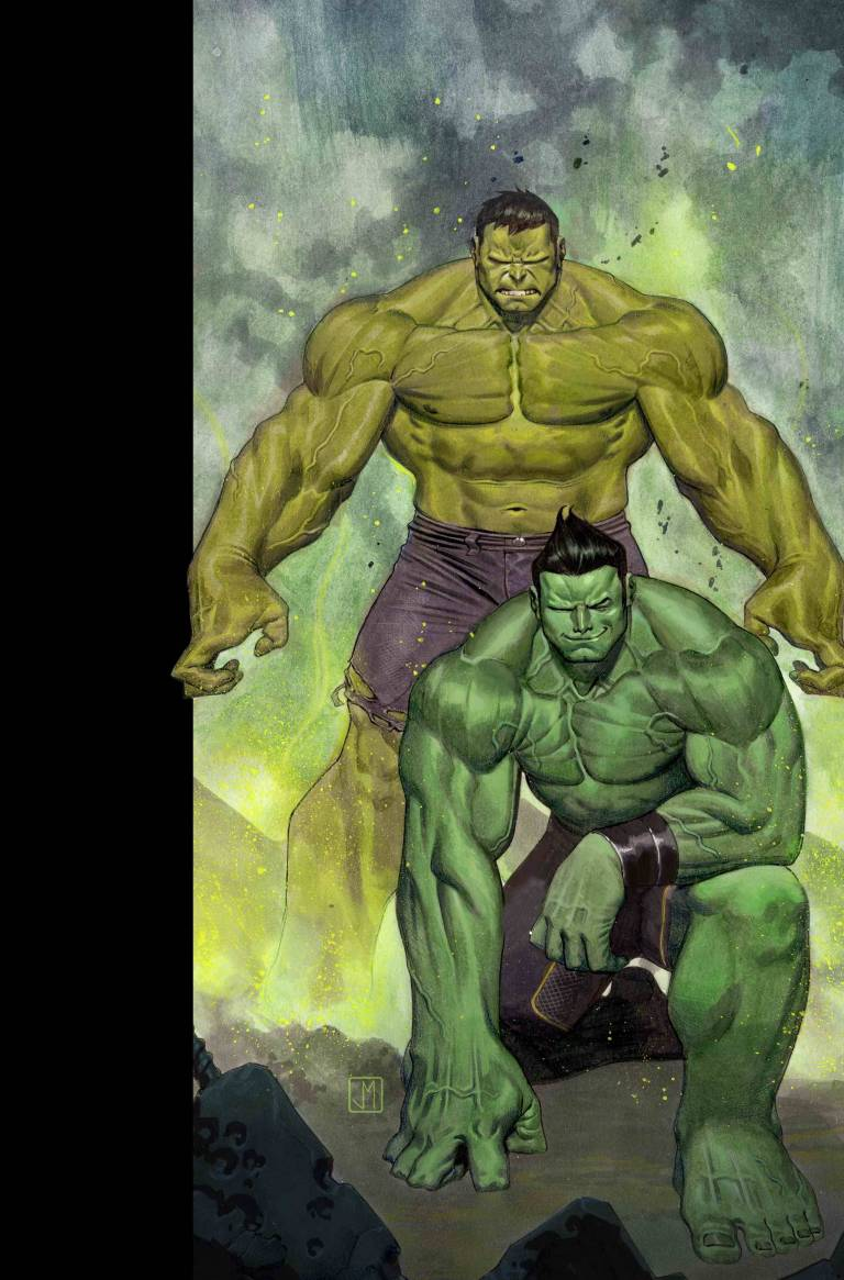 Generations Banner Hulk And The Totally Awesome Hulk #1 (Cover A Matteo Buffagni)