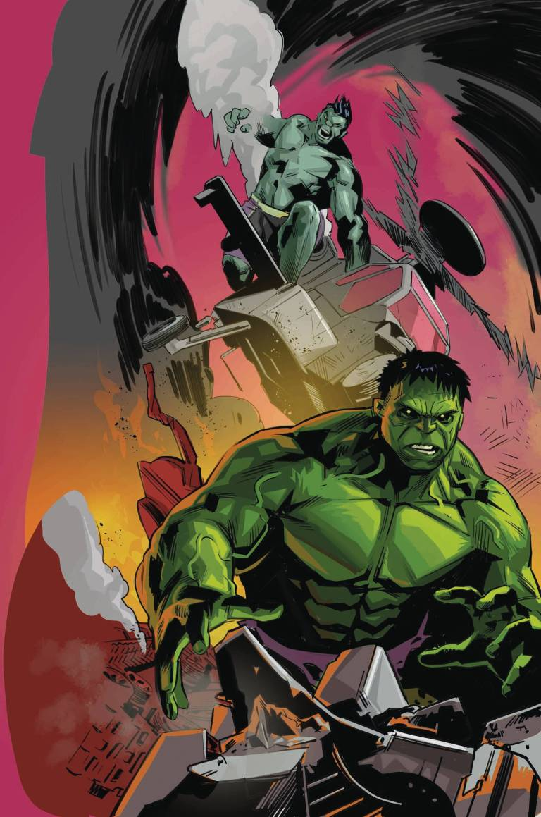 Generations Banner Hulk And The Totally Awesome Hulk #1 (Cover C Matteo Buffagni)