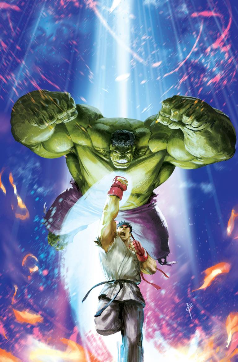 Generations Banner Hulk And The Totally Awesome Hulk #1 (Cover E Joe Vriens Marvel Vs Capcom Variant)