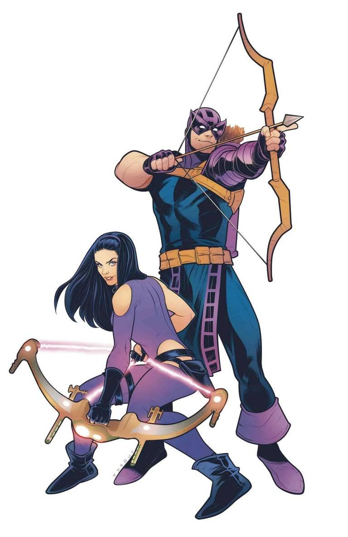 Generations Hawkeye And Hawkeye #1 (Cover B Elizabeth Torque)