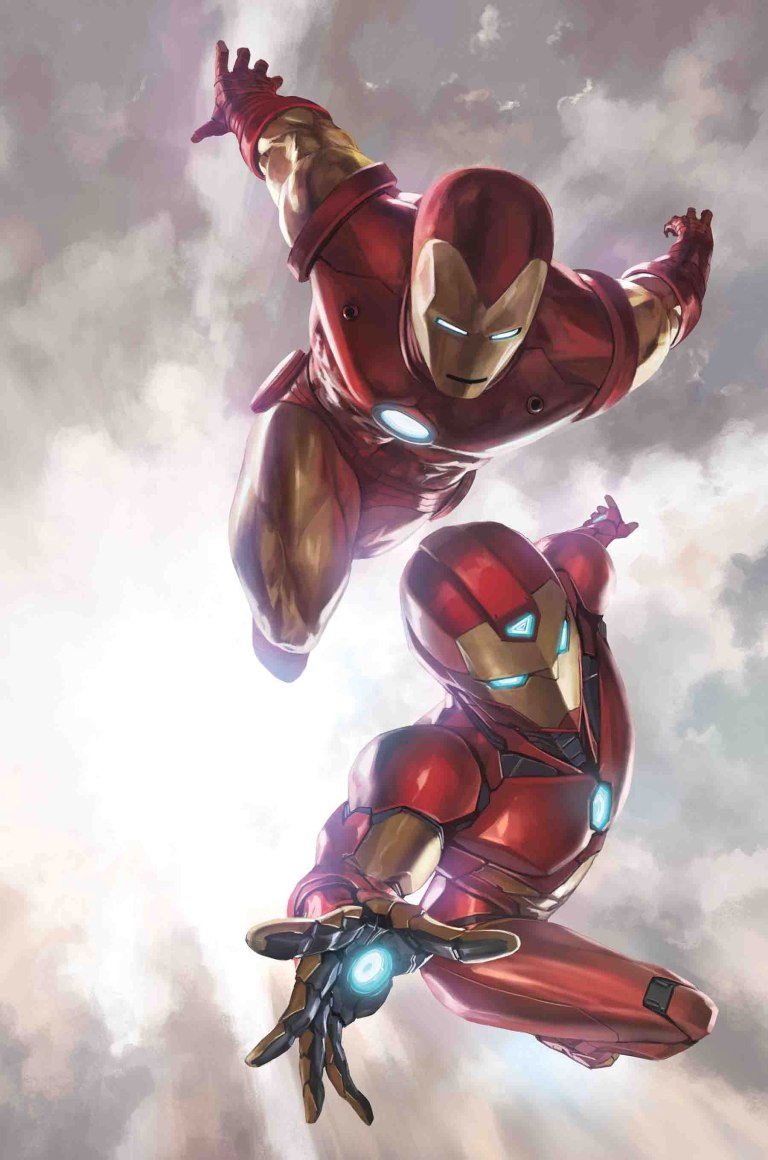 Generations Iron Man And Ironheart #1 (Cover A Skan)