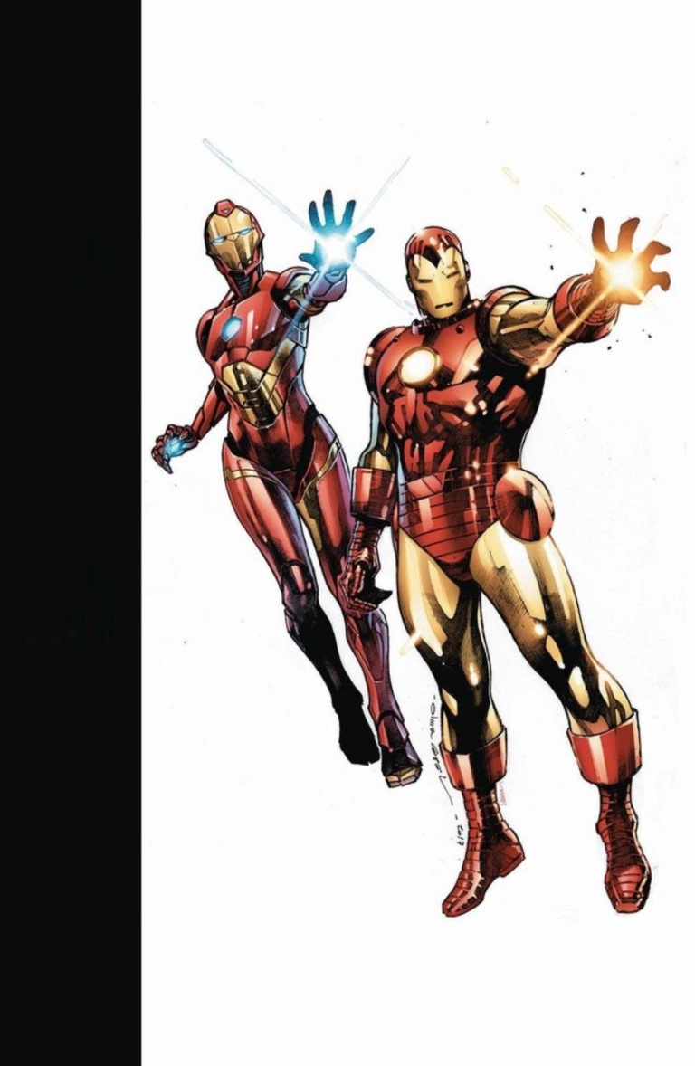 Generations Iron Man And Ironheart #1 (Cover B Olivier Coipel)