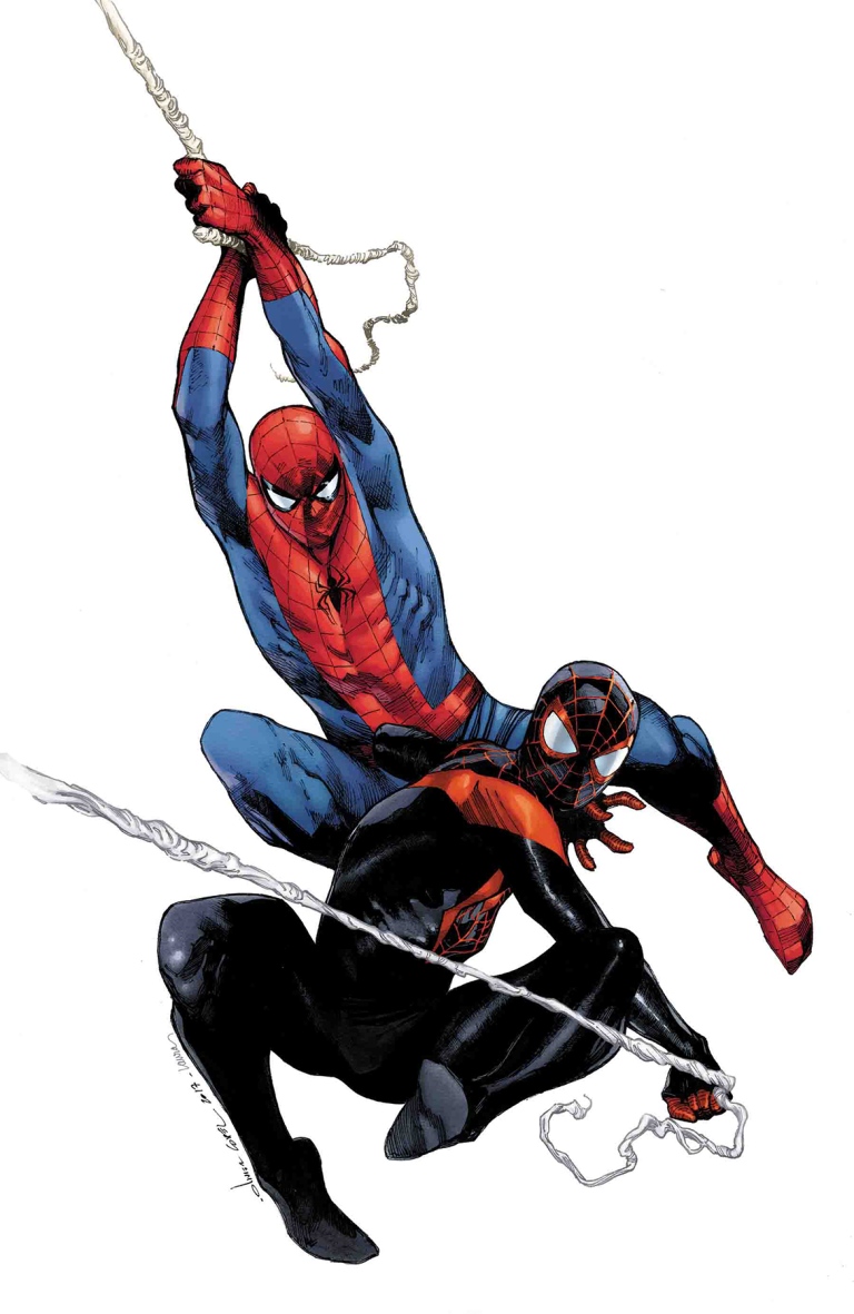 Generations Miles Morales Spider-Man And Peter Parker Spider-Man #1 (Cover B Olivier Coipel)