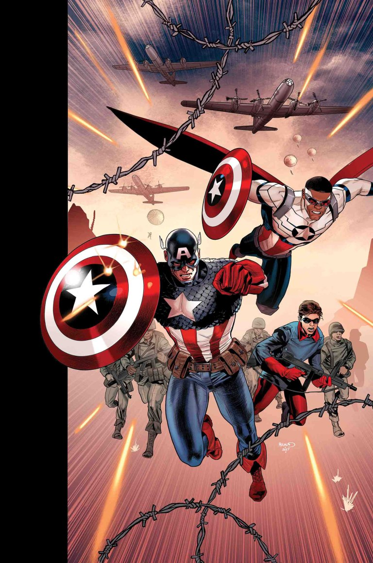 Generations Sam Wilson Captain America And Steve Rogers Captain America #1 (Cover A Paul Renaud)