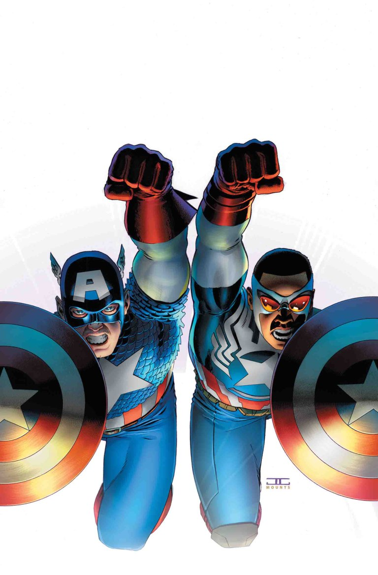 Generations Sam Wilson Captain America And Steve Rogers Captain America #1 (Cover B John Cassaday)