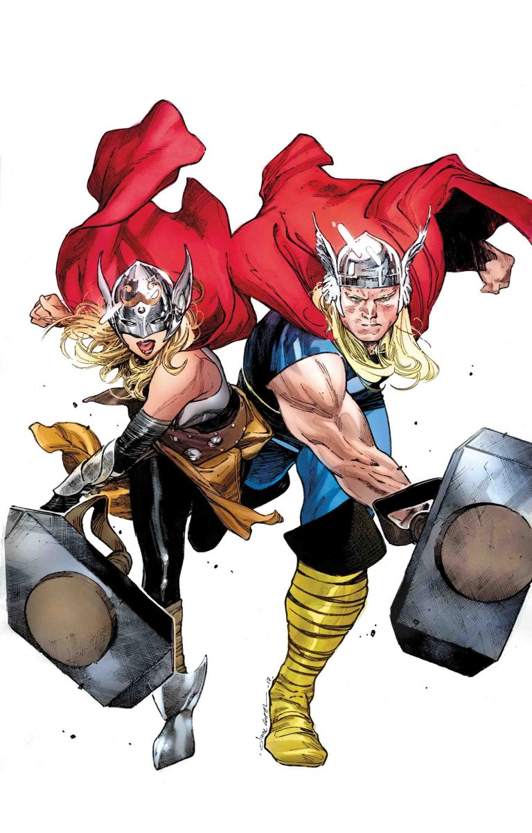 Generations The Unworthy Thor And The Mighty Thor #1 (Cover B Olivier Coipel)