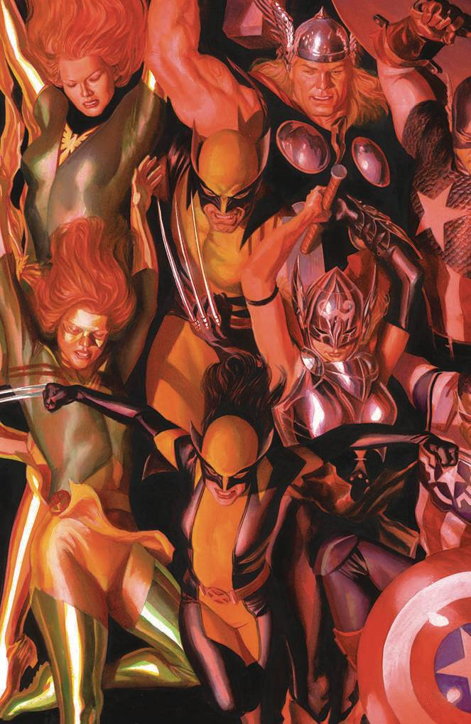 Generations Wolverine And All-New Wolverine #1 (Cover C Alex Ross Connecting Variant C)