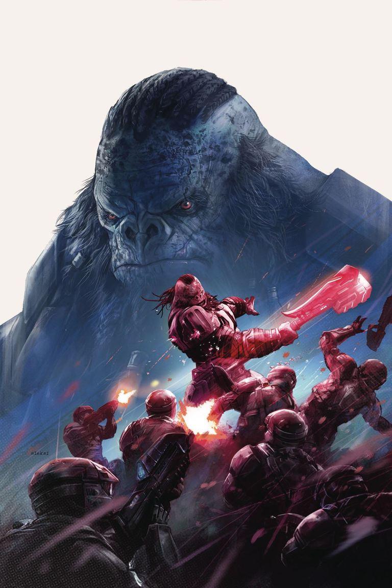 Halo Rise Of Atriox #1 (Aleksi Briclot Cover)