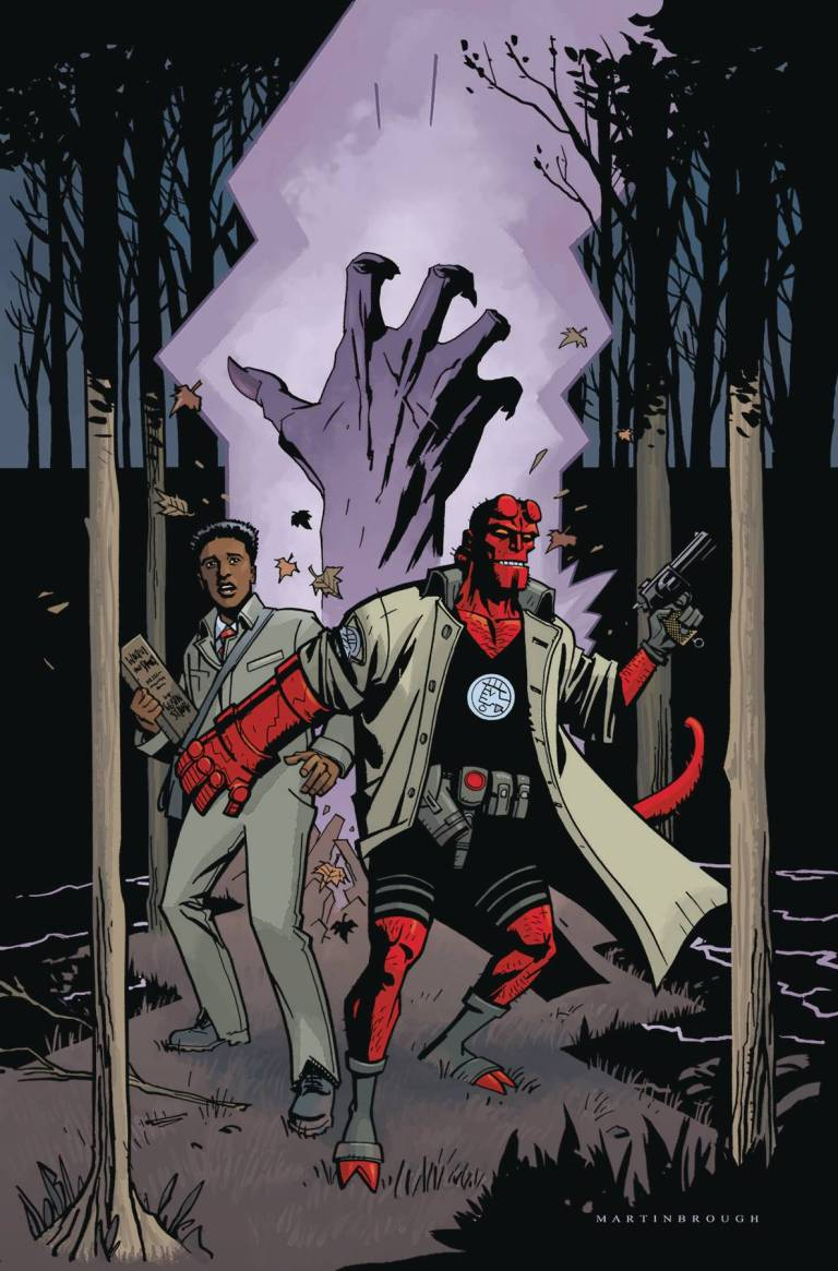 Hellboy And The B.P.R.D. 1955 Secret Nature #1 (Shawn Martinbrough Cover)