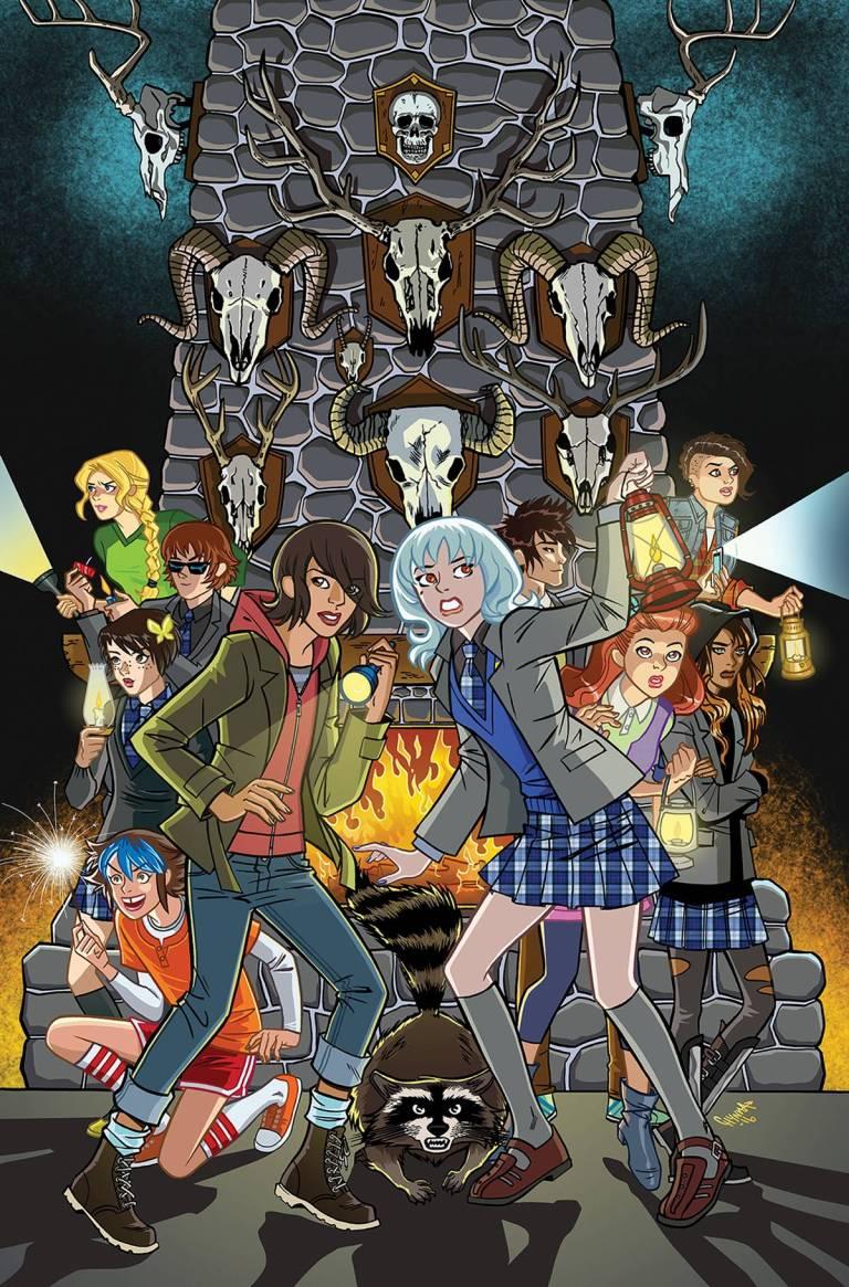 Lumberjanes Gotham Academy #1 (Cover C Chynna Clugston Flores)