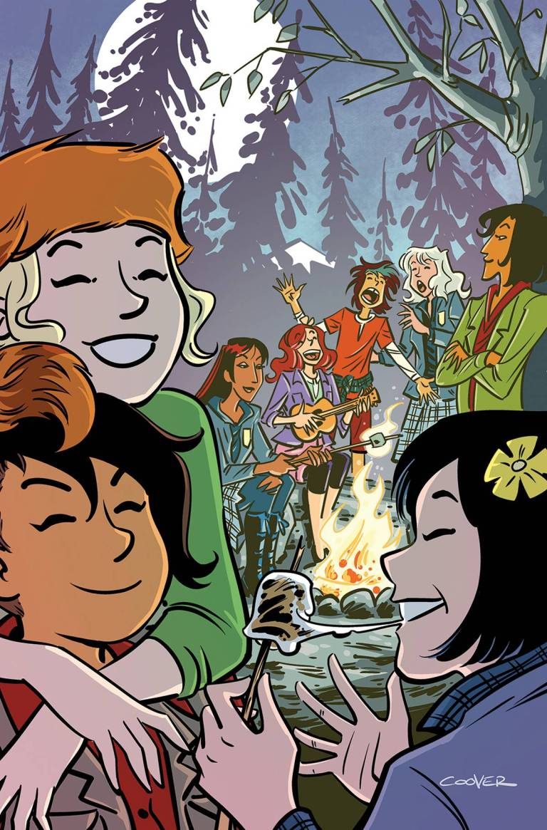 Lumberjanes Gotham Academy #2 (Cover C Colleen Coover)