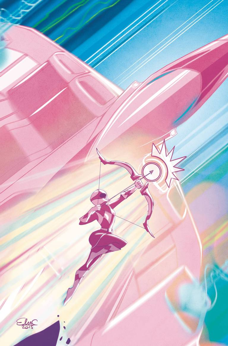 Mighty Morphin Power Rangers Pink #1 (Cover A Elsa Charretier)