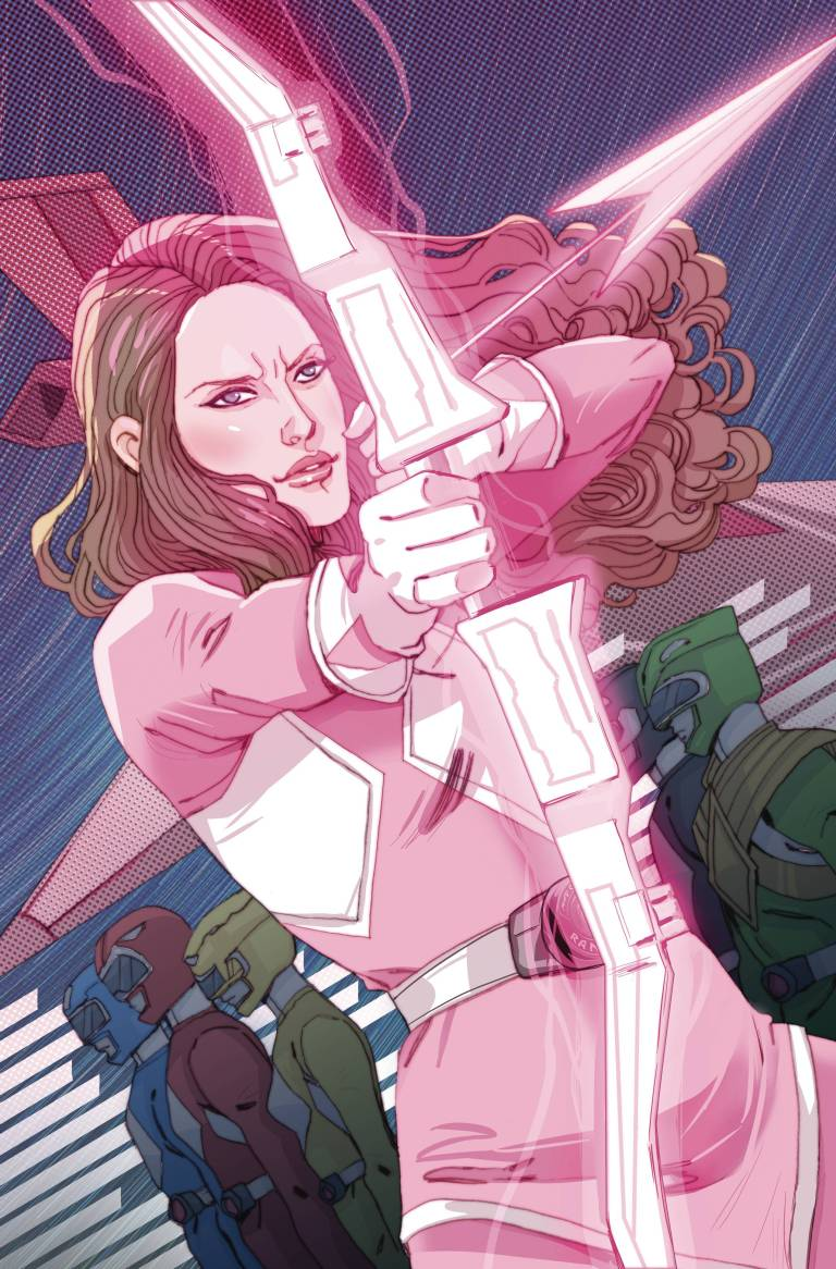 Mighty Morphin Power Rangers Pink #1 (Cover B Marguerite Sauvage)
