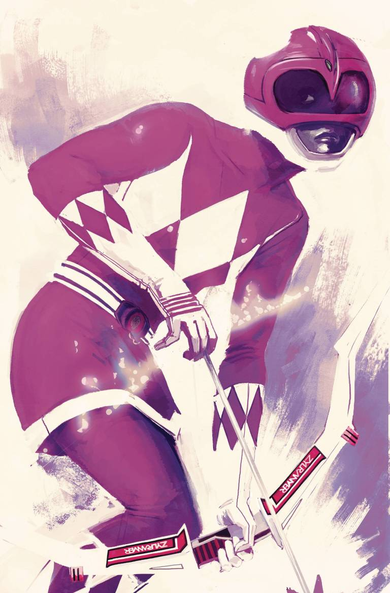 Mighty Morphin Power Rangers Pink #1 (Cover D Stephanie Hans)