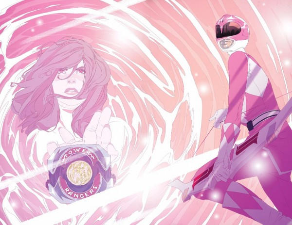 Mighty Morphin Power Rangers Pink #1 (Cover F Goni Montes Morphing Variant)