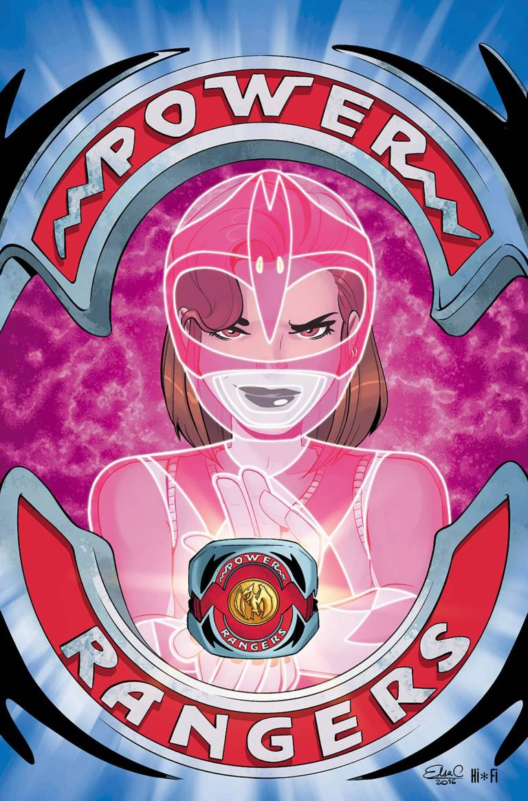 Mighty Morphin Power Rangers Pink #2 (Cover A Elsa Charretier)