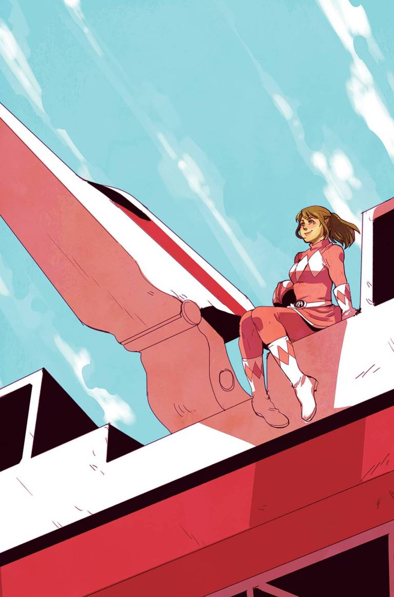 Mighty Morphin Power Rangers Pink #3 (Cover B Emily Hu)