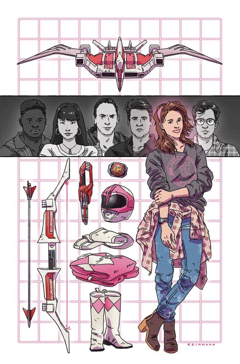 Mighty Morphin Power Rangers Pink #5 (Cover B Paul Reinwand)