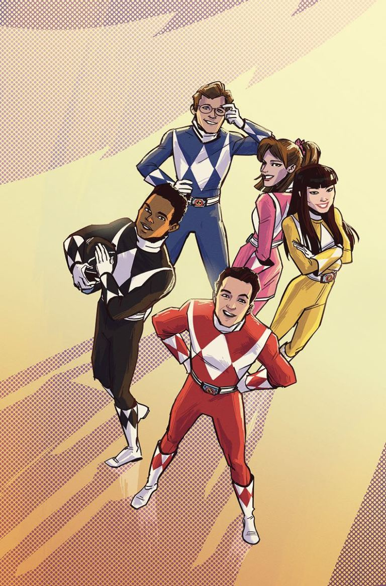 Mighty Morphin Power Rangers Pink #5 (Cover C Annie Wu)