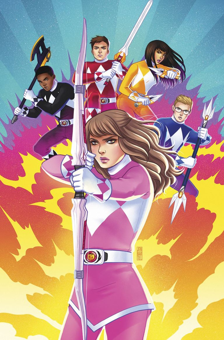 Mighty Morphin Power Rangers Pink #6 (Cover C Jen Bartel)