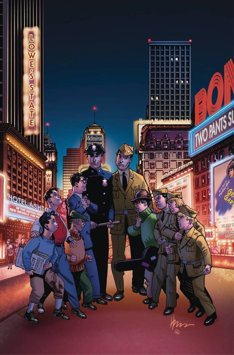 Newsboy Legion And The Boy Commandos Special #1 (Howard Chaykin Cover)