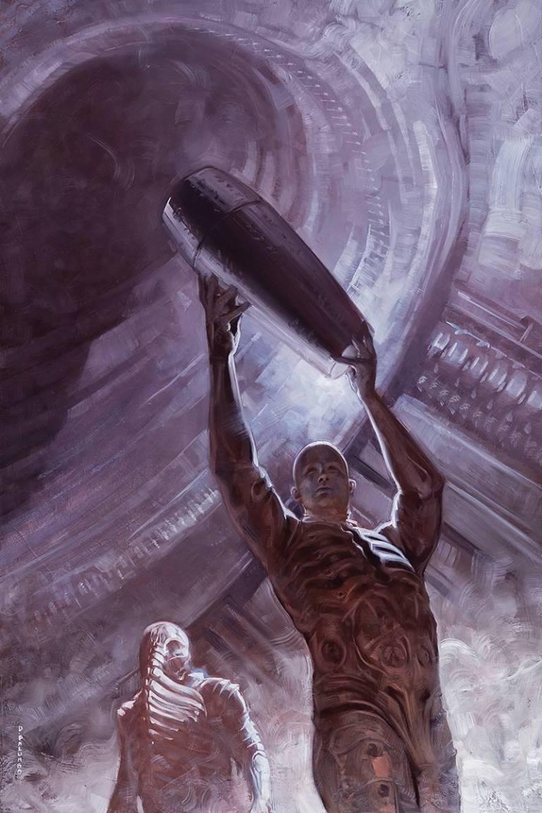 Prometheus Life And Death #3 (David Palumbo Cover)