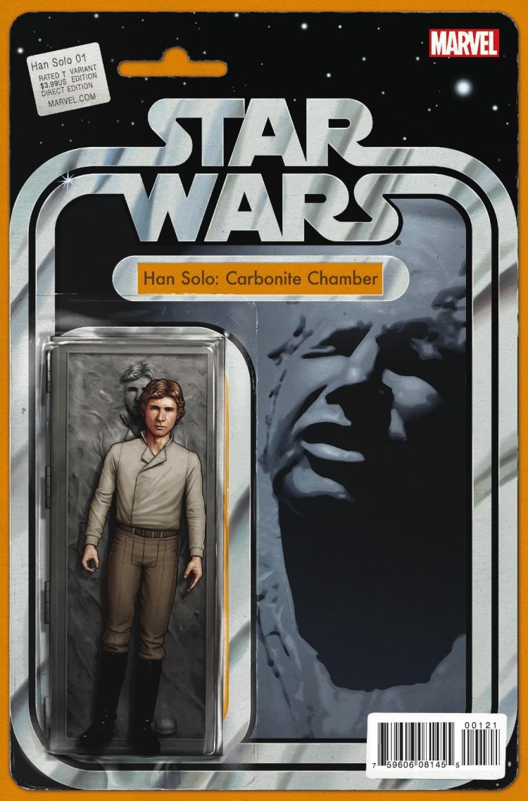 Star Wars Han Solo #1 (John Tyler Christopher Action Figure Variant Cover)