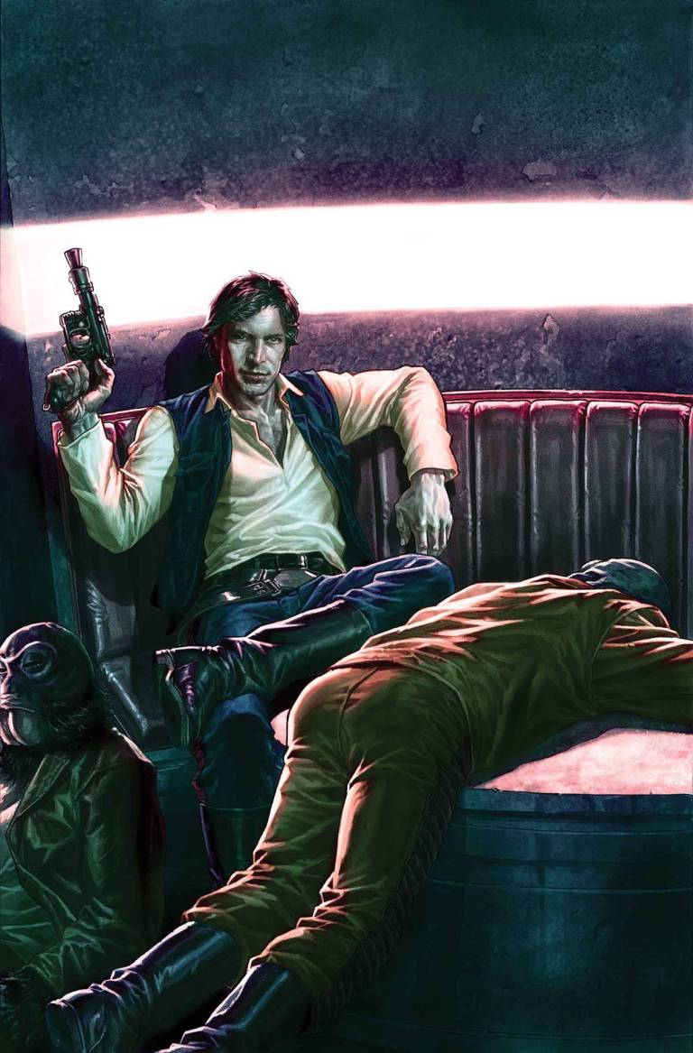 Star Wars Han Solo #2 (Lee Bermejo Regular Cover)