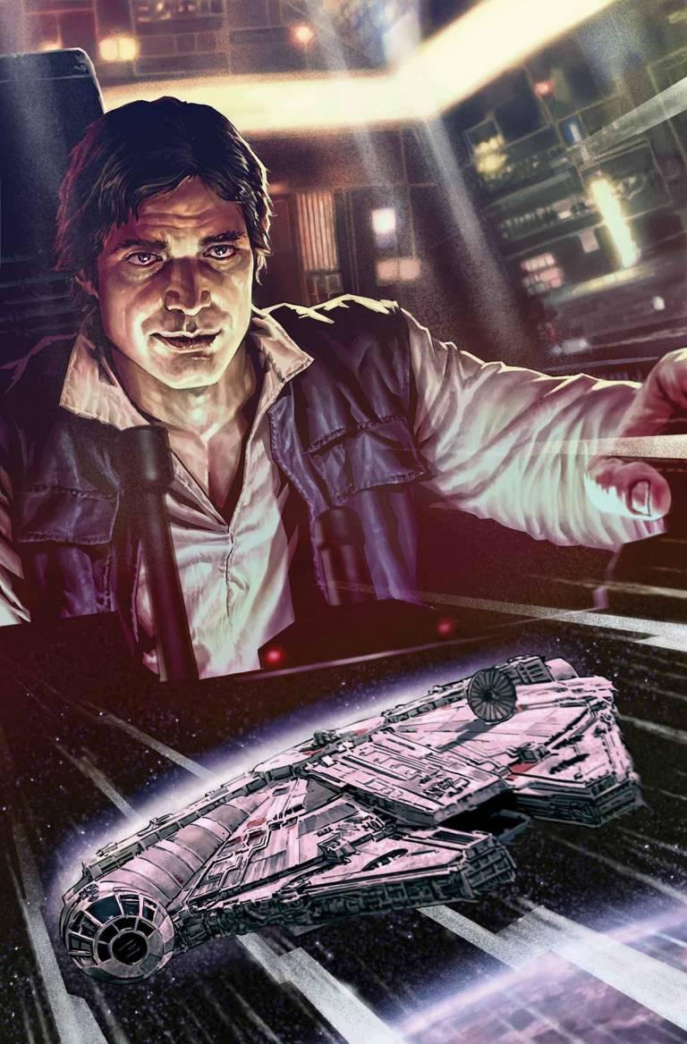 Star Wars Han Solo #3 (Lee Bermejo Regular Cover)