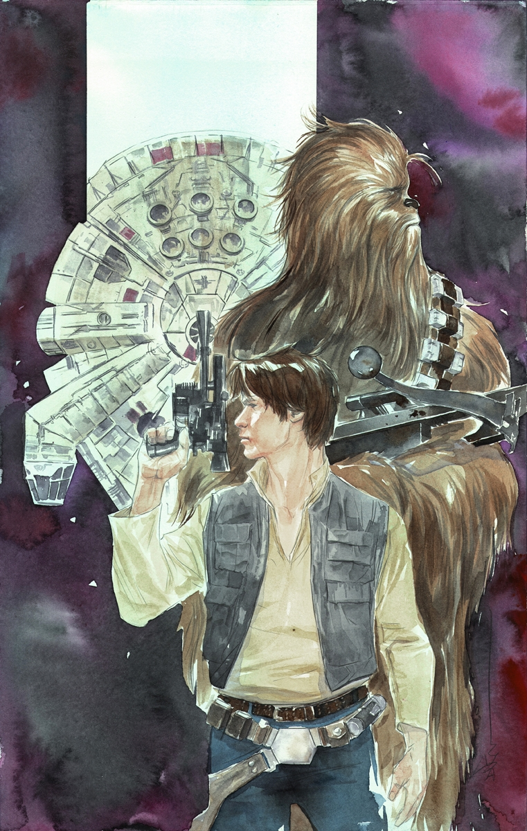 Star Wars Han Solo #4 (Dustin Nguyen Variant Cover)