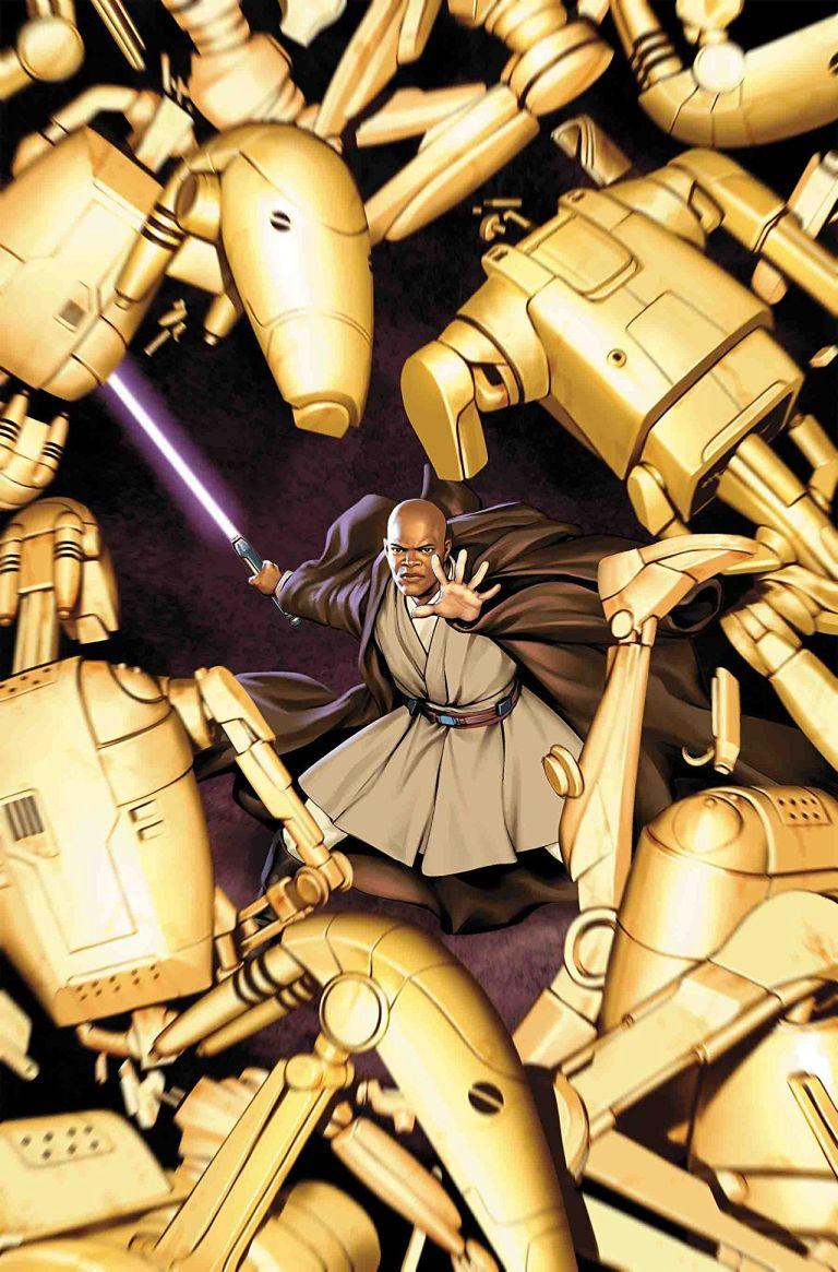Star Wars Jedi Of The Republic Mace Windu #1 (Cover A Jesus Saiz)
