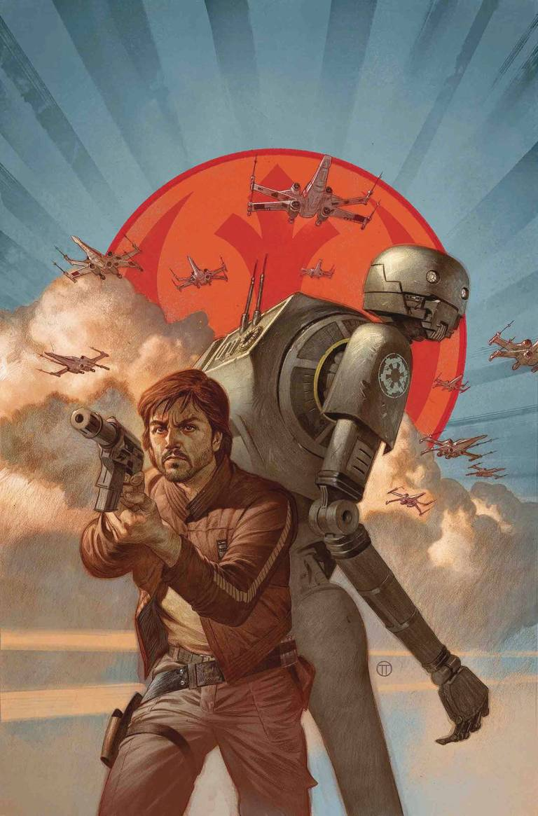 Star Wars Rogue One Cassian And K2SO Special #1 (Cover A Julian Totino Tedesco)