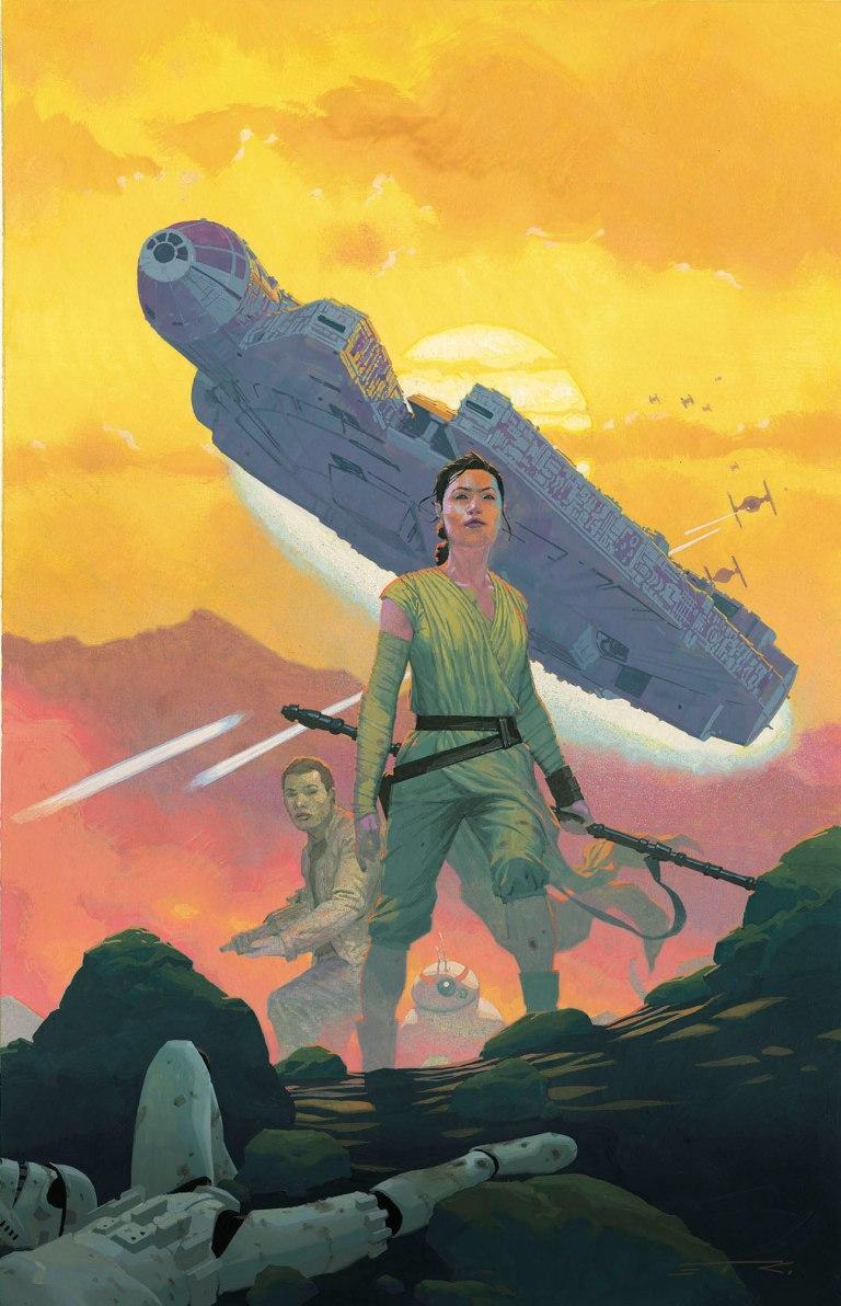 Star Wars The Force Awakens Adaptation #1 (Esad Ribic Regular Cover)
