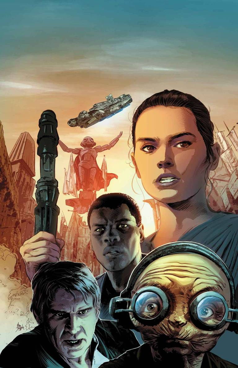 Star Wars The Force Awakens Adaptation #3 (Mike Deodato Regular Cover)
