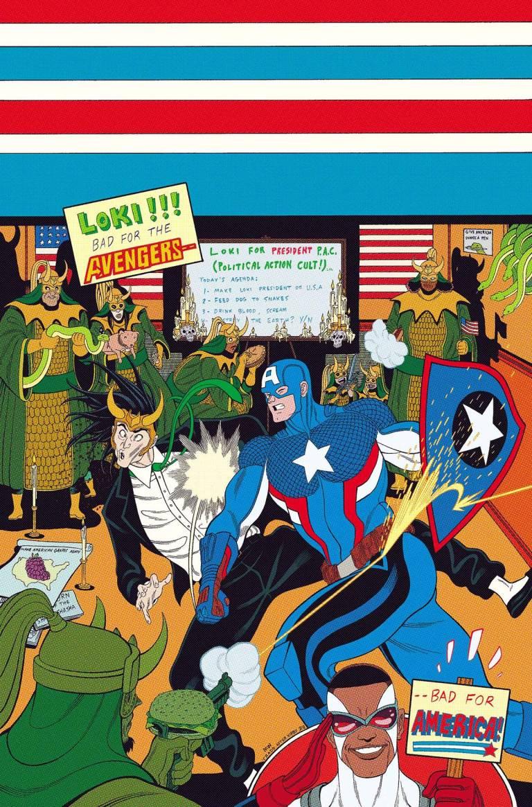 Vote Loki #2 (Cover A Tradd Moore)